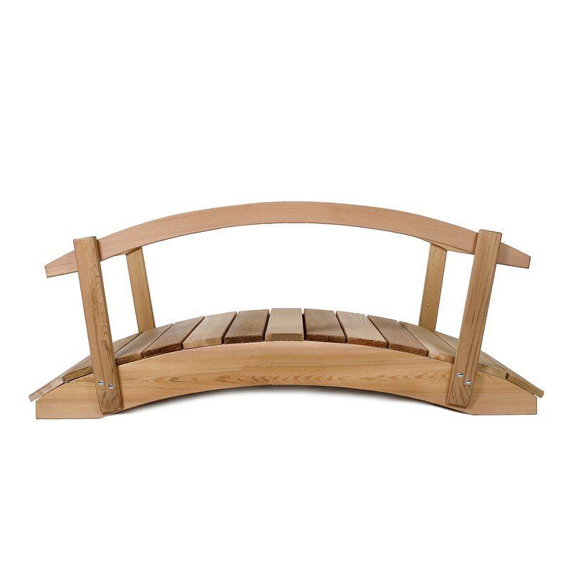 Would Look Good Over My Future Dry Creek Bed. All Things Cedar FB36U R Garden  Bridge