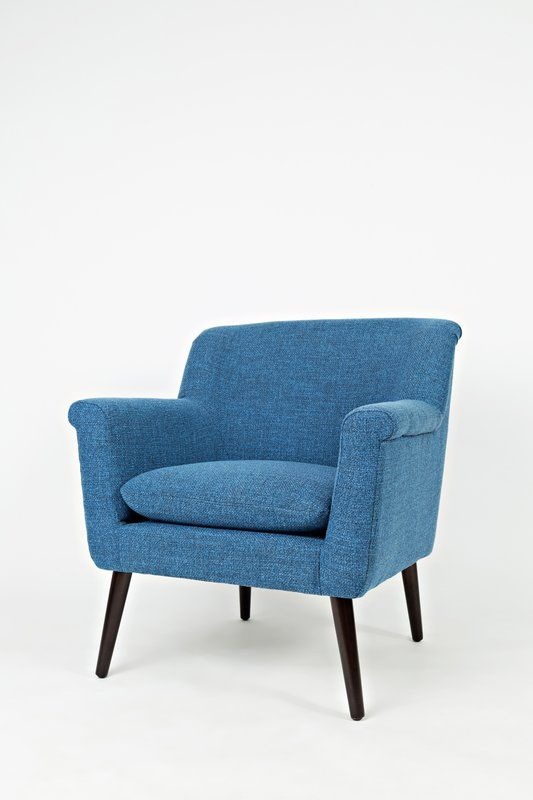 Gianna Armchair Allmodern Blue Accent Chairs Contemporary