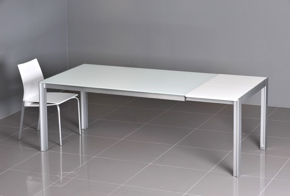 Exceptionnel VOLA GLASS EXTENSION TABLE WHITE BRILLIANT GLASS WITH GW EXTENSION Product  Description Materials: Italian Colour