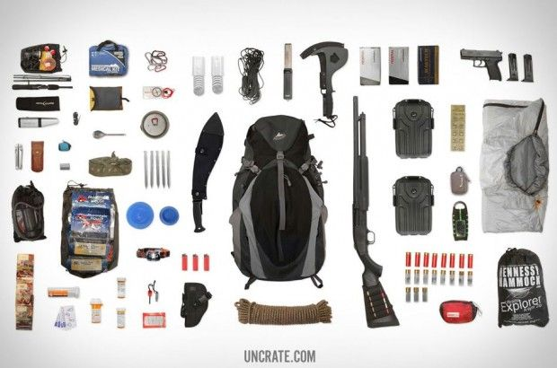 Items For The Ultimate Bug Out Bag Apocalypse Survival