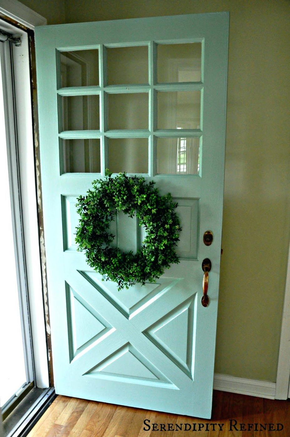 Light Green Front Door Painted Front Doors Exterior Doors With Glass Wood Exterior Door