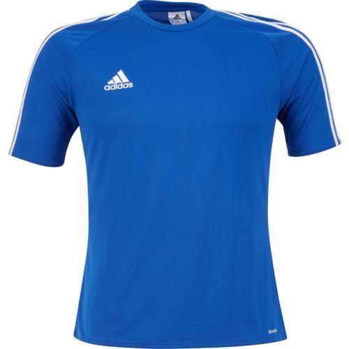 Adidas Men's Estro 15 Soccer Jersey (Light GreyWhite, Size