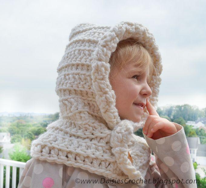 Free Crochet Childrens Hoods Crochet Hood Pattern Crochet Cowl