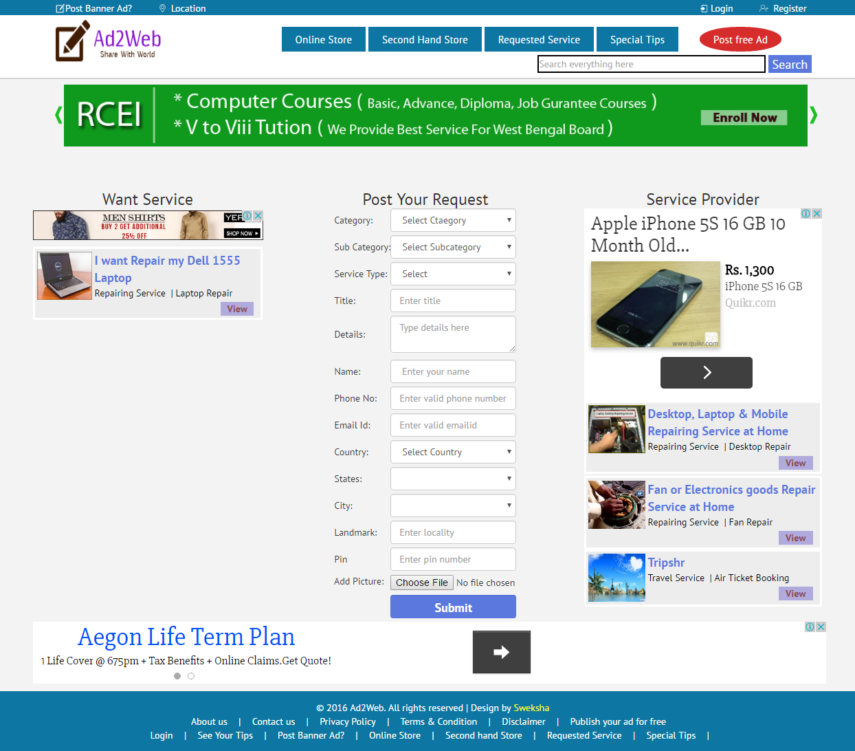 post ad buy sell rent jobs post online banner ad get post ad buy sell rent jobs post online banner