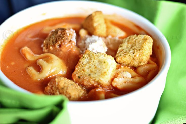 13 Cozy Comfort Foods For Fall Tomato Tortellini Soup Tortellini Soup Food Recipes