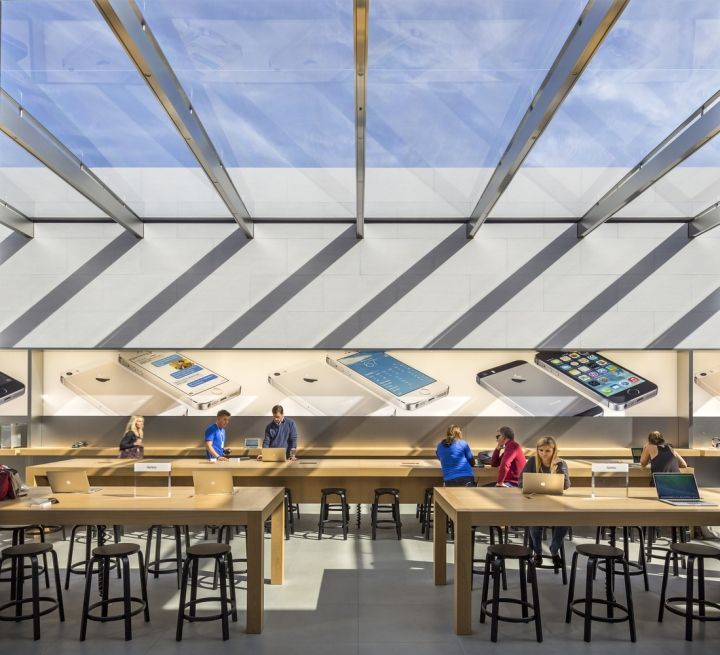 Apple Store By Bohlin Cywinski Jackson Palo Alto California