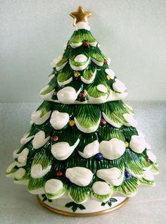 Christmas Tree Cookie Jar From Cracker Barrel