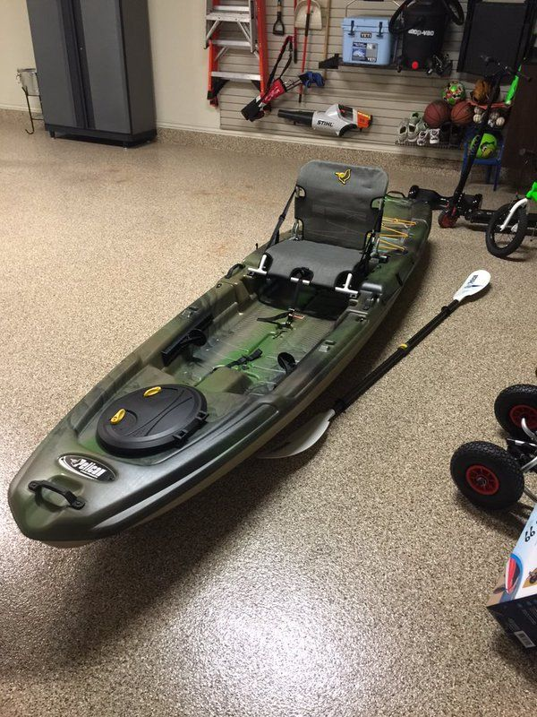 Jordy Mercer On Angler Kayak Kayak Fishing Kayaking