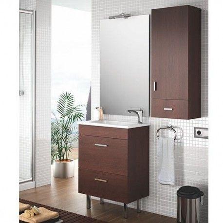 Mueble de Baño ALMAGRO 60 cm de 1 puerta y 1 cajón de ...