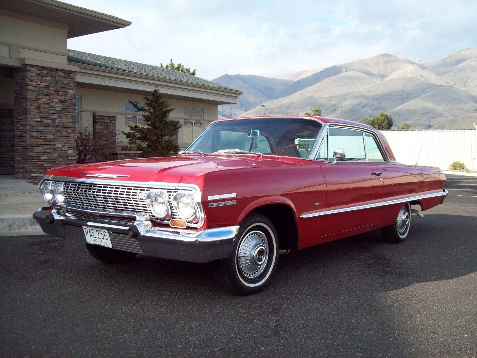 1963 Chevrolet Impala 2 Door Hardtop Chevroletimpala1963 Chevrolet Impala Chevrolet Classic Cars Chevy