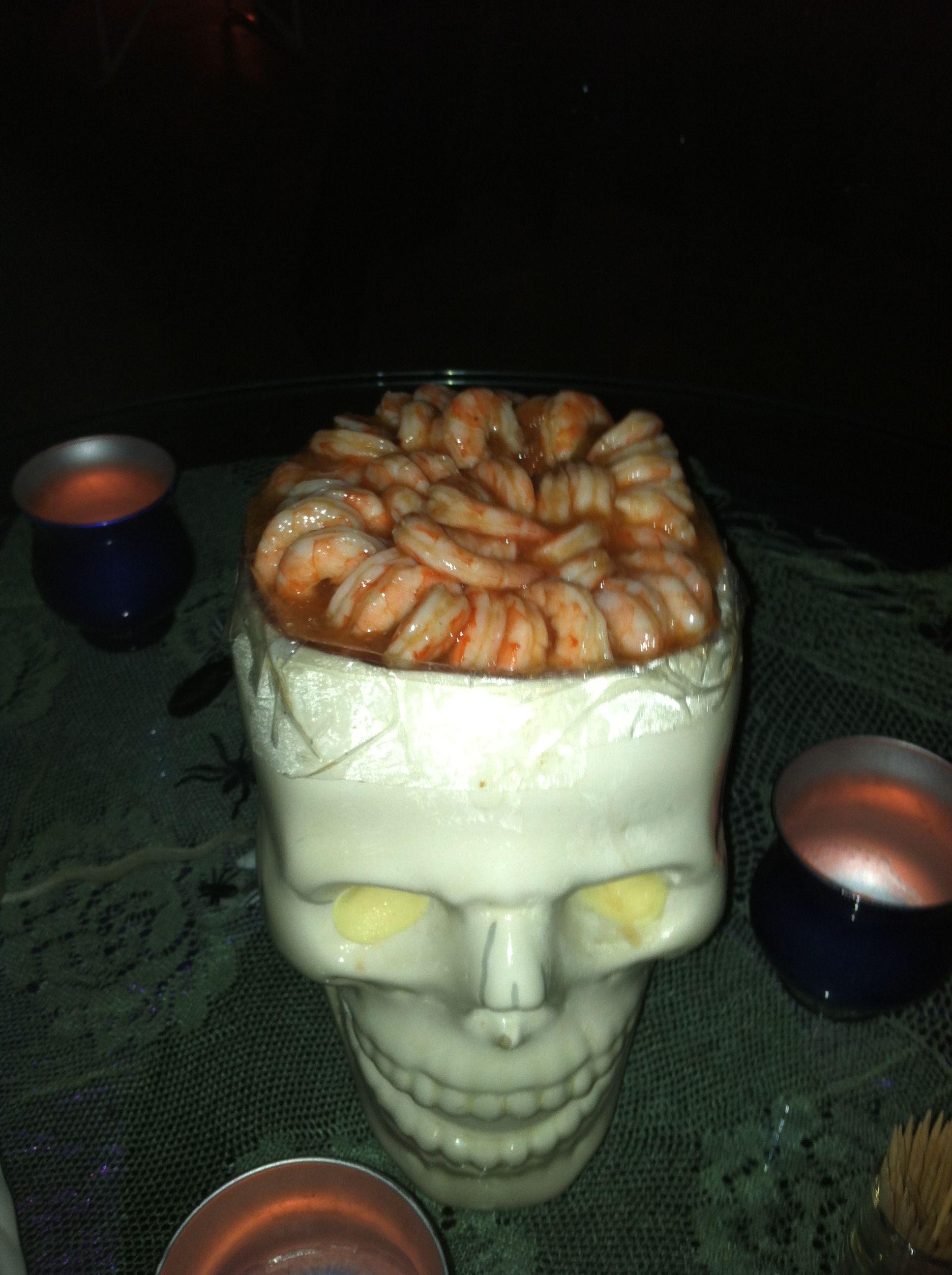 Monkey Brains....(Shrimp Cocktail) Shrimp cocktail, Food