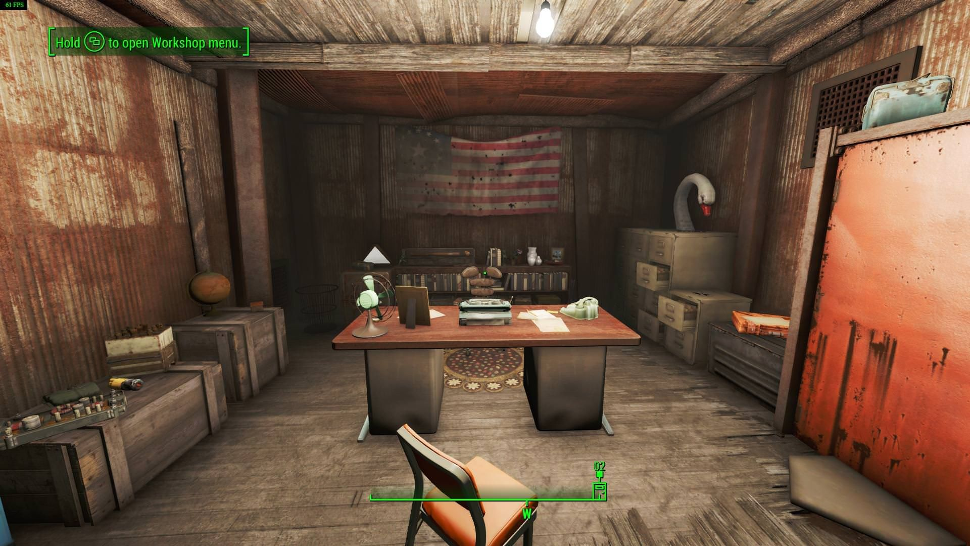 I Had A Lot Of Fun Decorating Home Plate Even If My Character Has Never  Stayed The Night! #Fallout4 #gaming #Fallout #Bethesda #games #PS4share  #PS4 #FO4