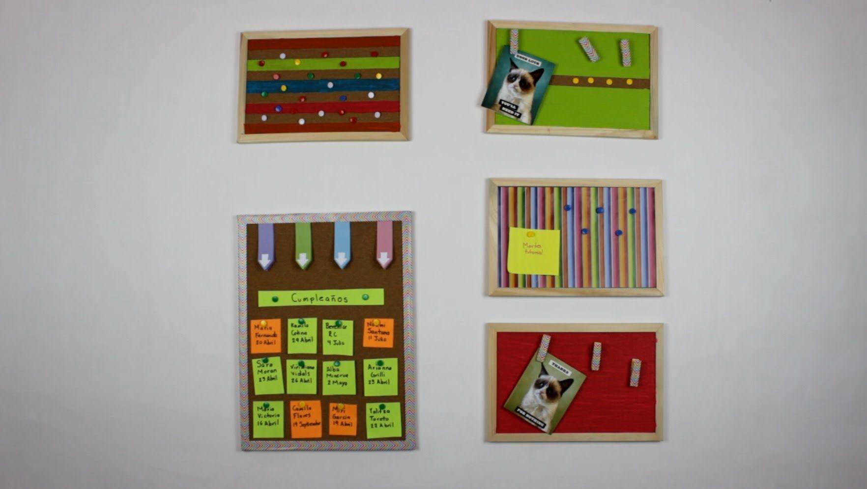 Ideas para decorar tu habitacion corcho hablobajito - Ideas para decorar una habitacion ...