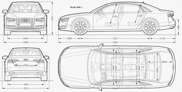 Download car blueprint of audi a8l aralar pinterest cars download car blueprint of audi a8l malvernweather Image collections