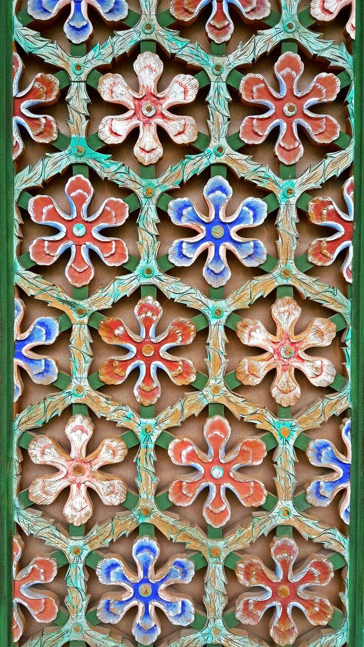 Geumsansa Flower Grate