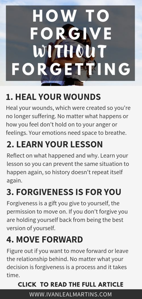 I struggled in the past to forgive those who hurt me. I ...