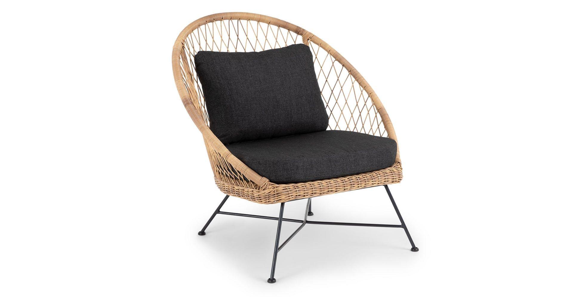 Brilliant Latta Slate Gray Coffee Table In 2019 Wicker Lounge Chair Machost Co Dining Chair Design Ideas Machostcouk