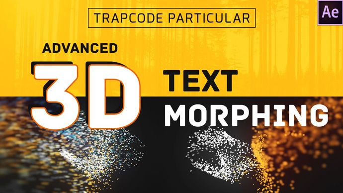 After Effects – 3D Text Morphing with Trapcode Particular Tutorial