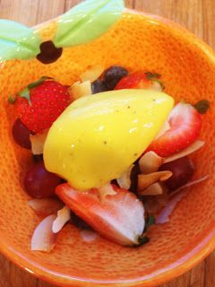 Crickets Confections: Mango-Banana Sorbet: No Ice Cream Machine Needed!