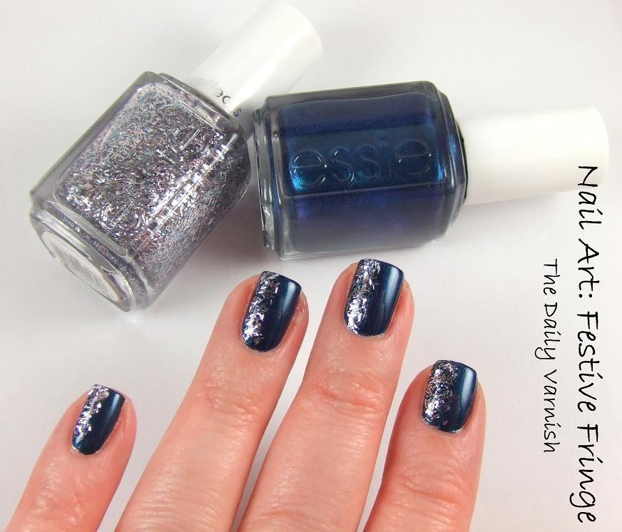 Festive Fringe Nail Art Nails, Nail art, Nail polish