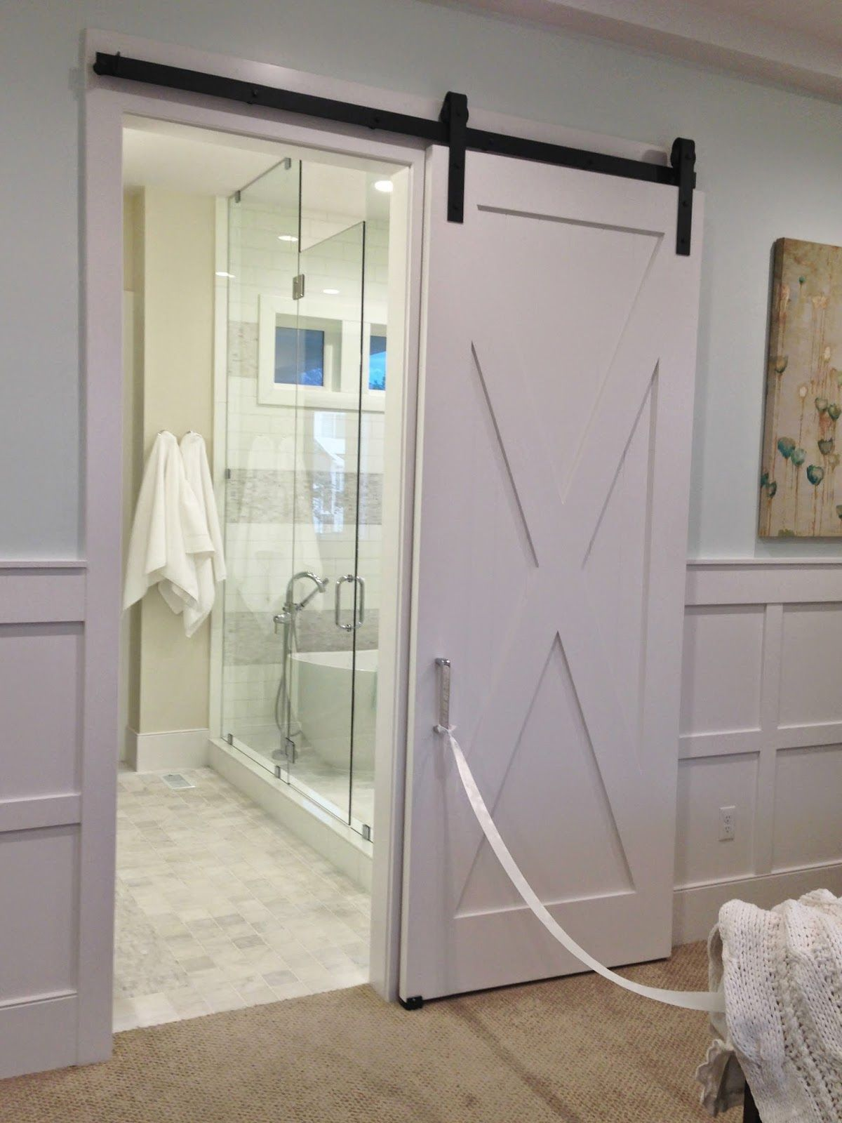 Genial Interior, Elegant White Barn Door For Home: Barn Doors For Your Unique Home