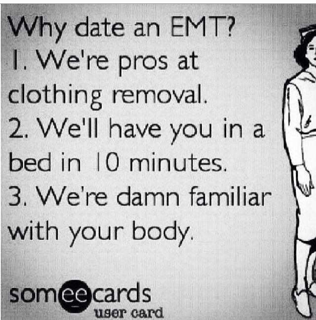 Tips for dating an emt