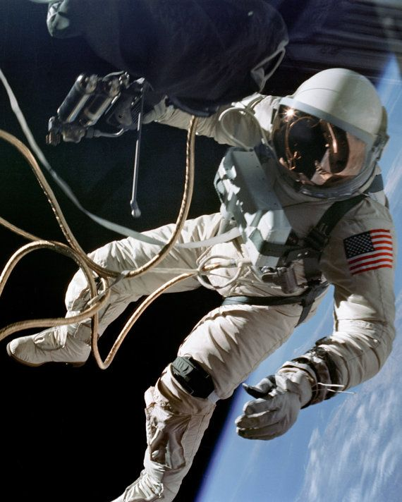 Ed White: First American Astronaut to Walk in by HistoricalMedia