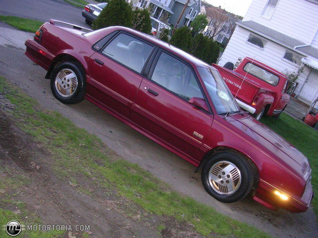 Pontiac 6000SE Pontiac, Pontiac 6000, Buick century