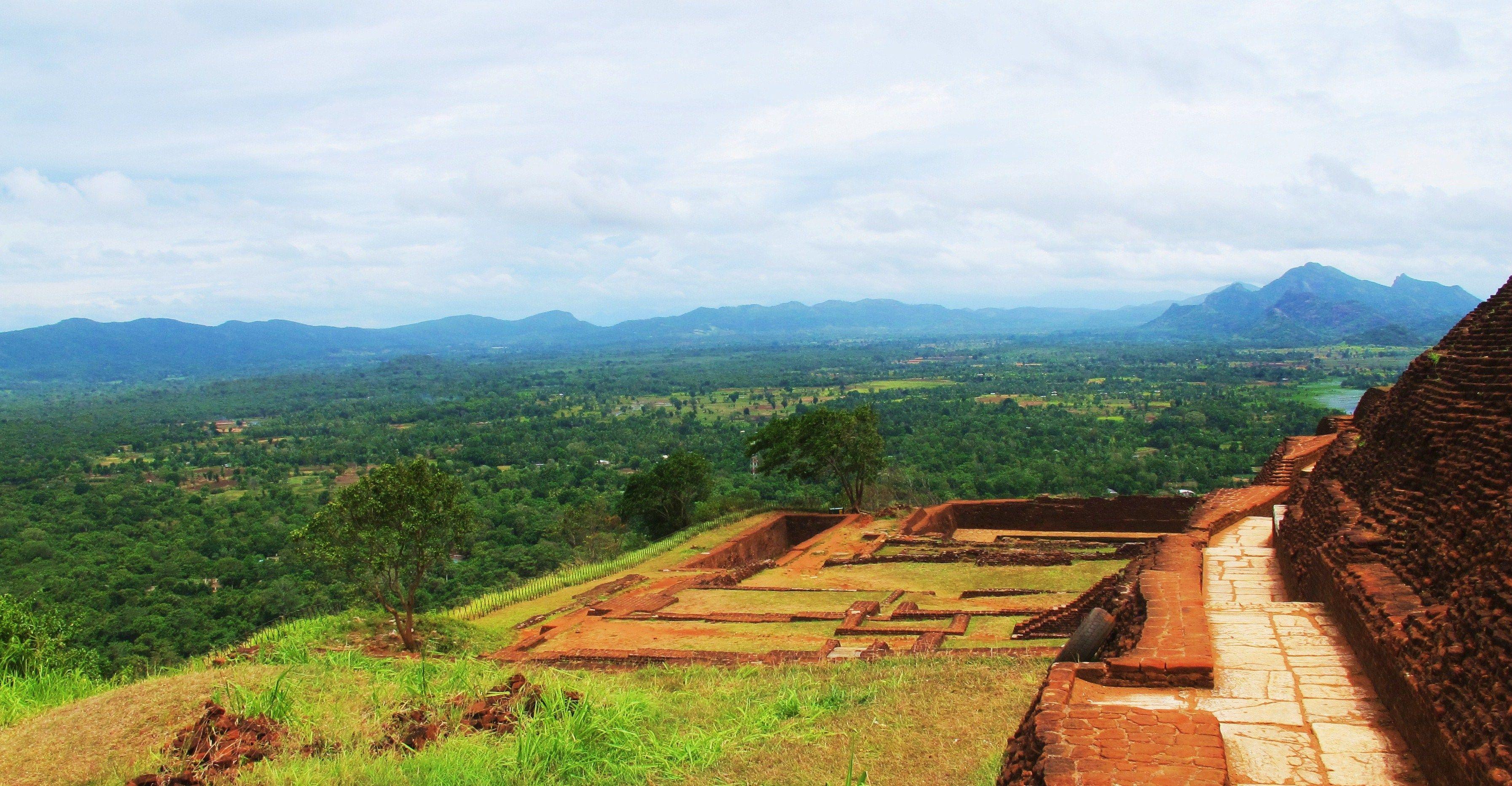 View from Sigiriya Rock, Sri Lanka