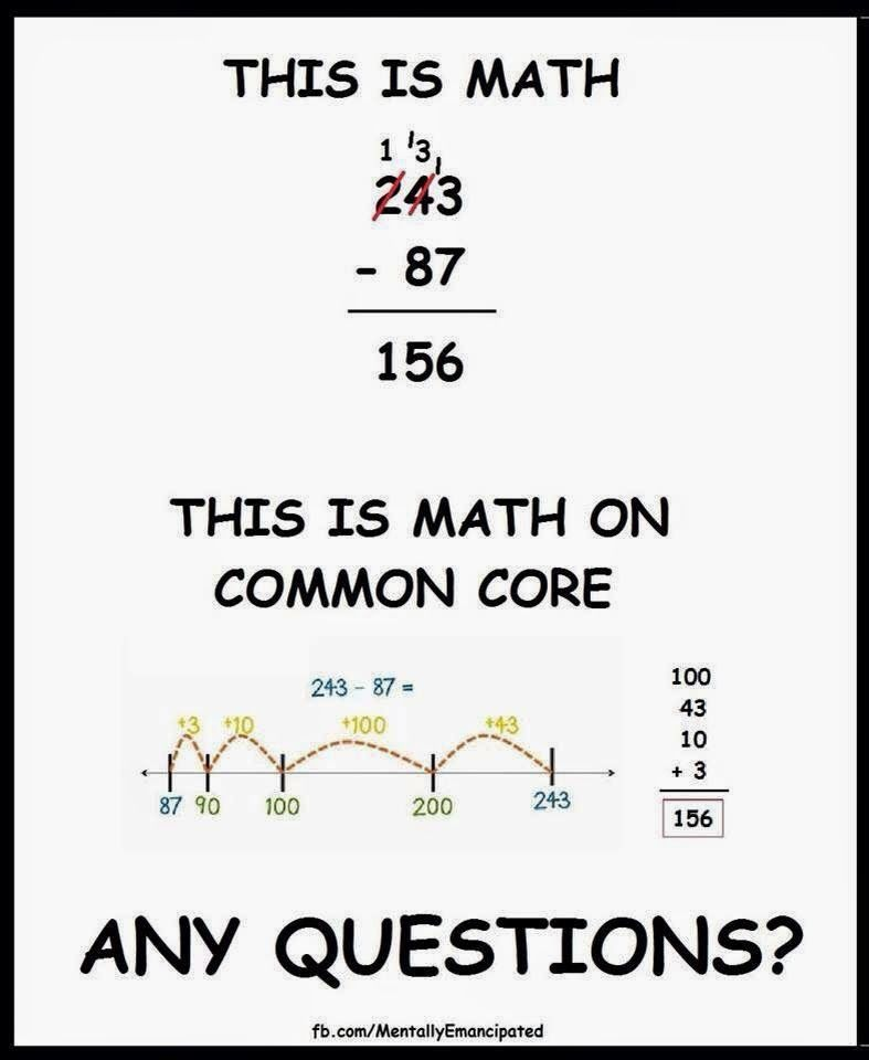Common Core: Just Standards or really a Curriculum