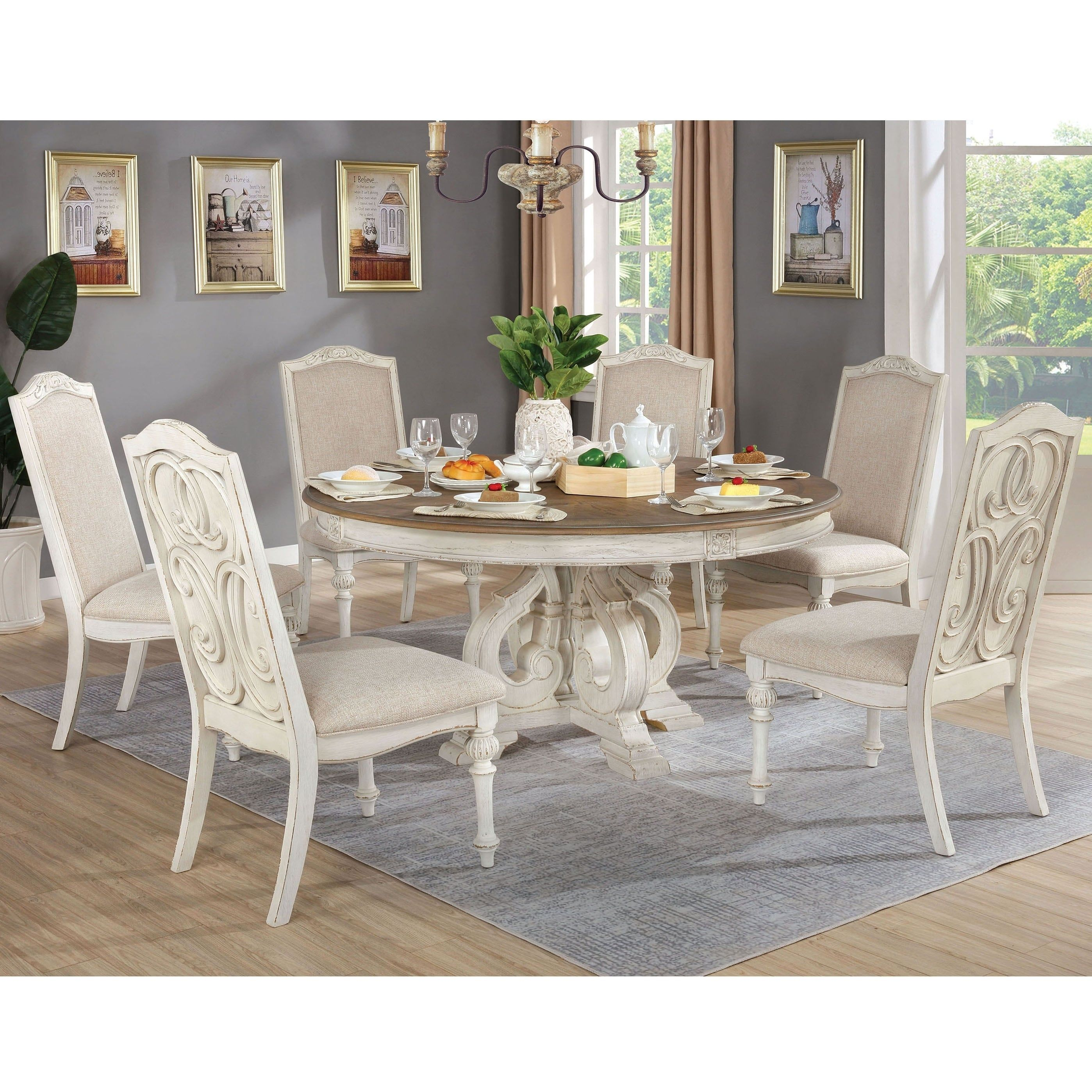 Overstock Com Online Shopping Bedding Furniture Electronics Jewelry Clothing More White Round Dining Table Round Dining Table Round Dining Set