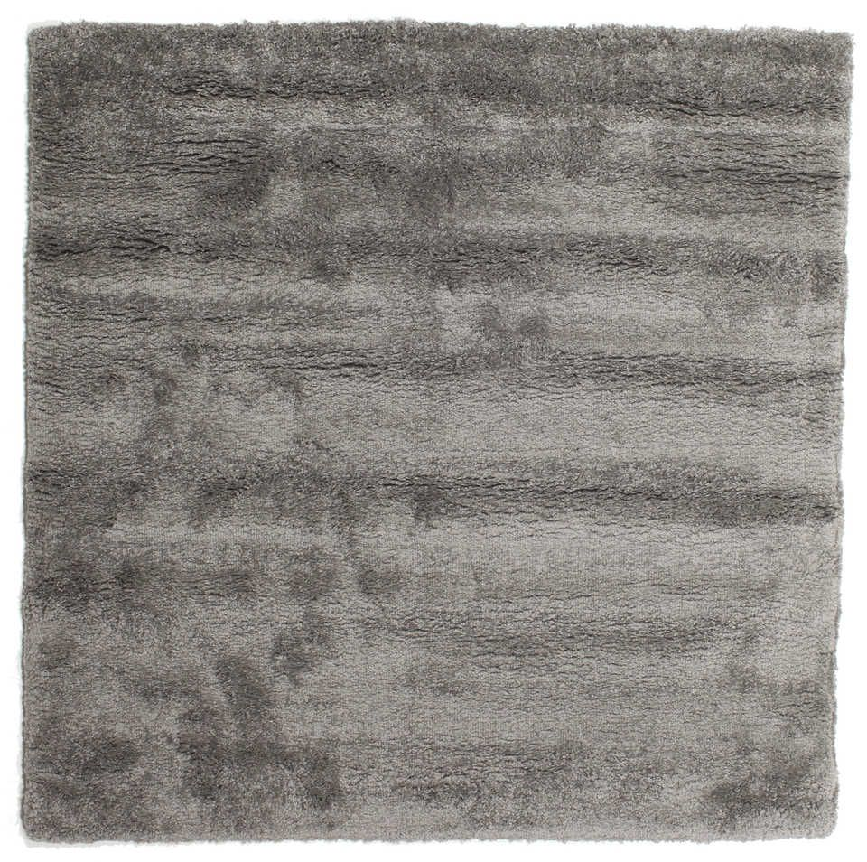 Shaggy Sadeh Teal Rug 160X230 Modern Dark Grey/Light