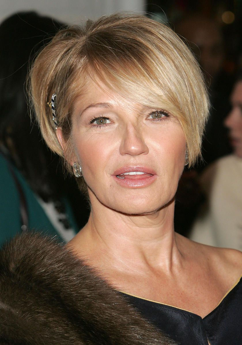 Ellen Barkin Hair Cuts Pinte