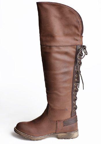 8c142f3766fc Rumplestilz Brown Boots Lace Up Boots