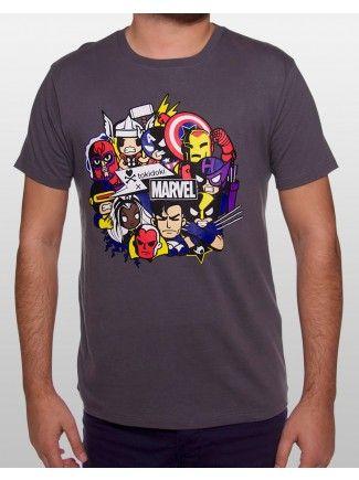 tokidoki x Marvel The All Powerful Men's Tee $24