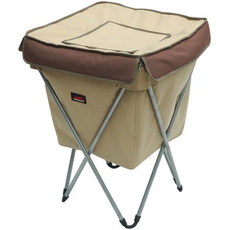 Texsport 108-Can Party Cooler, Brown