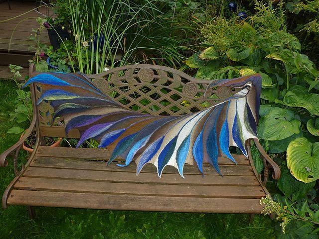 Dreambird KAL pattern by Nadita Swings | Chal, Ganchillo y Tejido