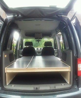 VW Caddy/Camping/Bett/(optional Tisch /Küche Gegen Aufpreis)