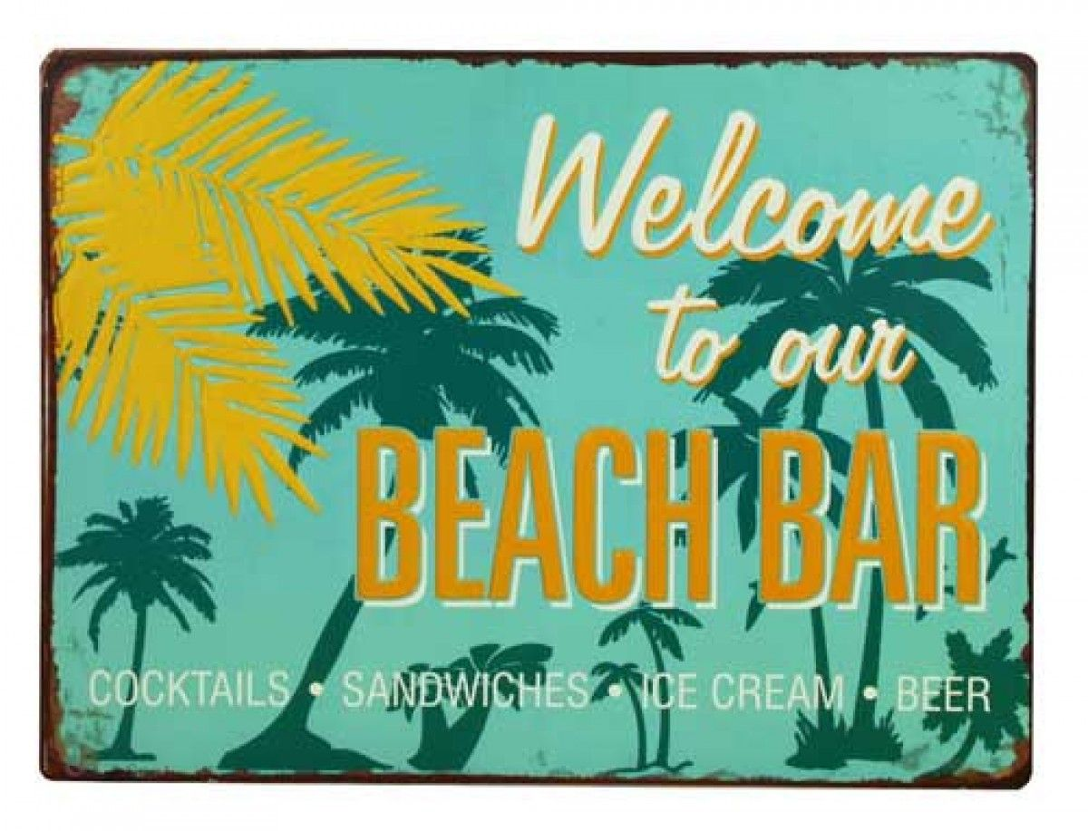 Surf Signs Decor Extraordinary Home  Beach & Coastal  Beach & Surf Signs  Welcome To Our Inspiration