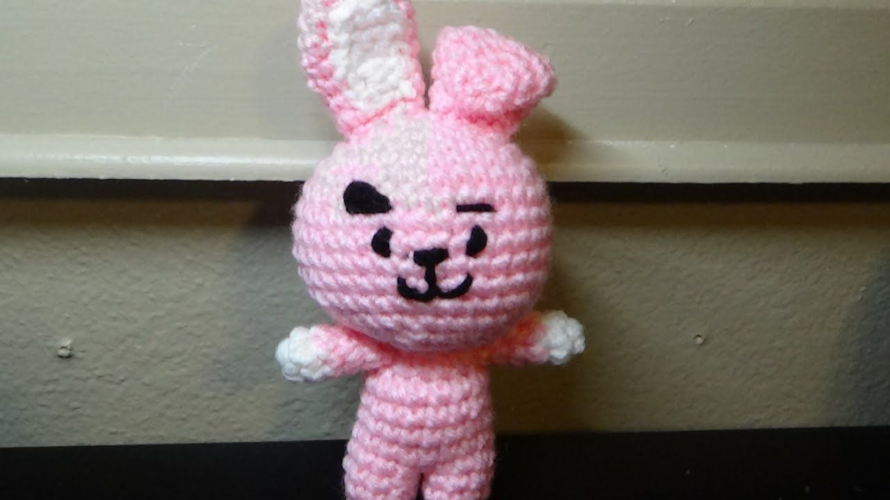 BT21 Cooky TUTORIAL // Amigurumi Pattern // Crochet along ...