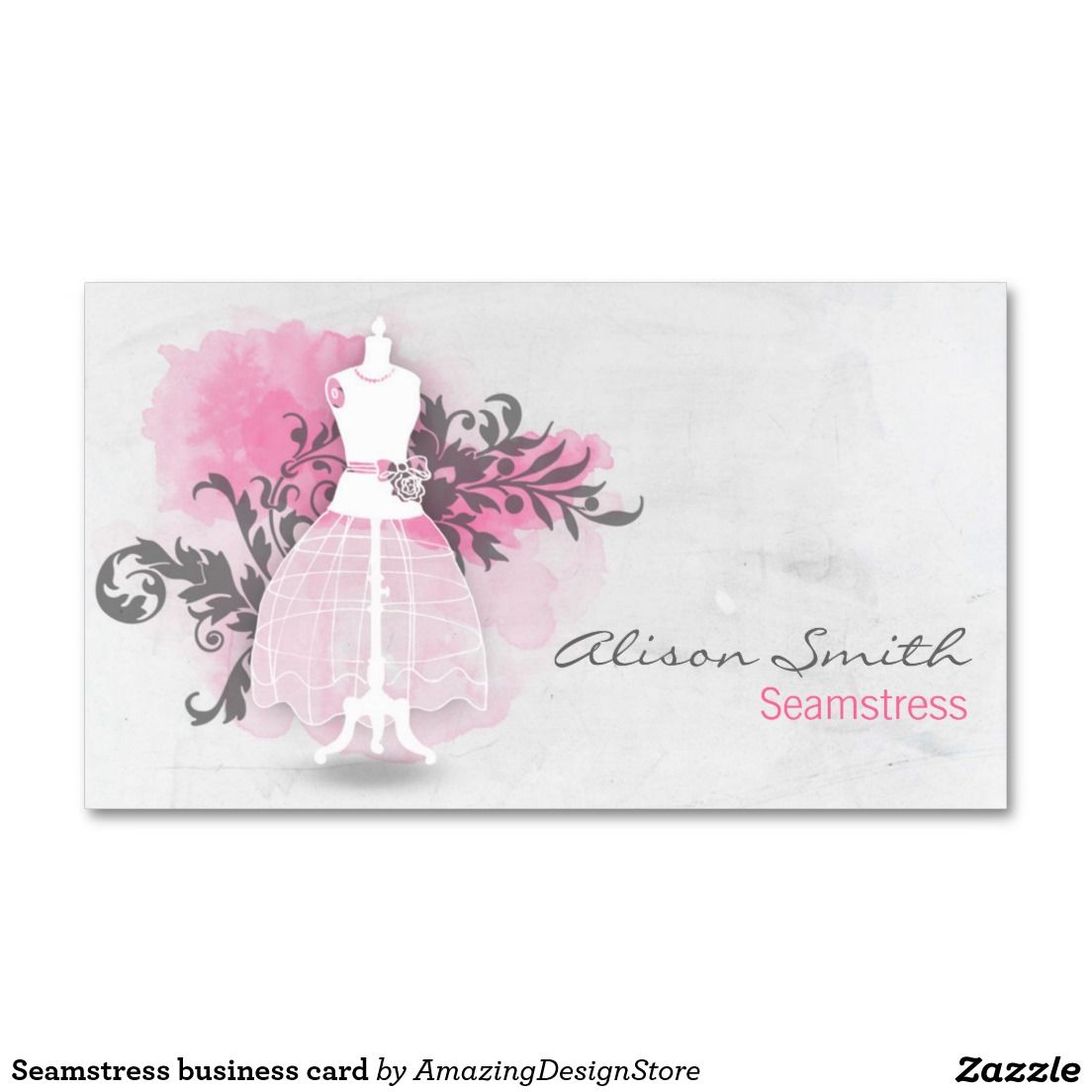 Seamstress business card   Business cards, Business and Logos