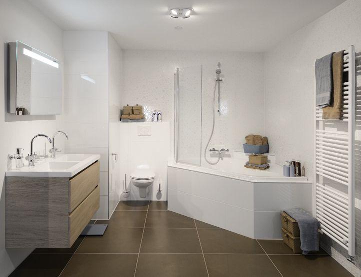 Badkamer idee - New home | Pinterest - Badkamer, Badkamers en ...
