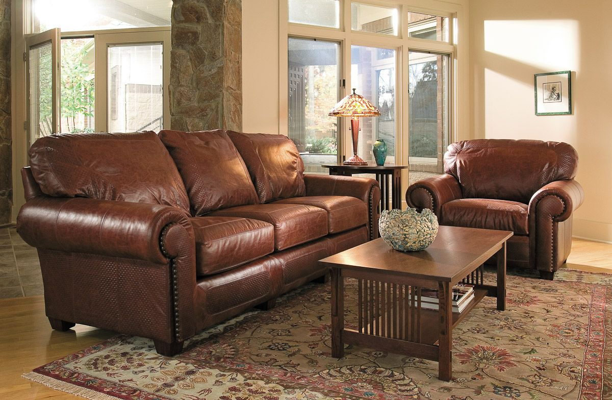 Stickley Santa Fe Sofa I Cannot Wait To One Day Purchase This It Is The Most Beautiful Comfortable Leather Ve Ever Sat On