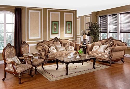 New Best Master Furniture Madelyn Traditional 3 Pcs Living Room