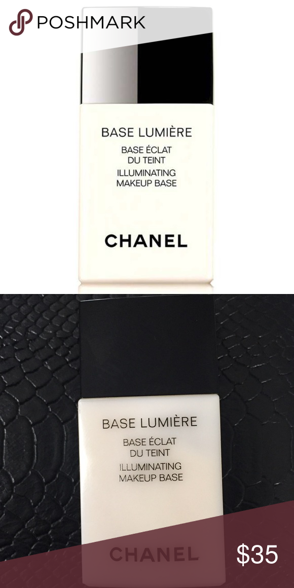 CHANEL BASE LUMIÈRE ILLUMINATING MAKEUP BASE New no box