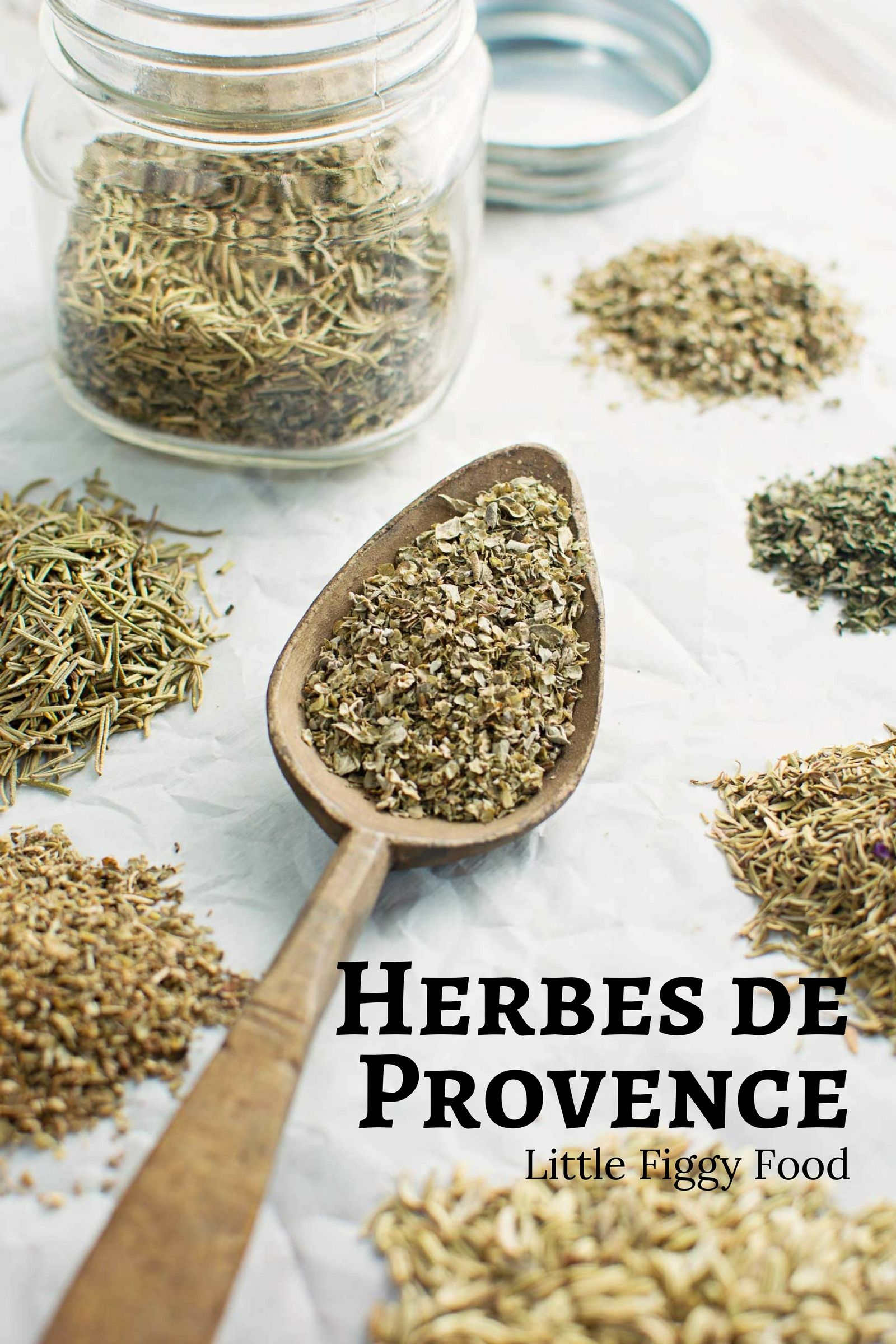 An all rounder herbal blend, Herbes de Provence. Recipe from @LittleFiggyFood