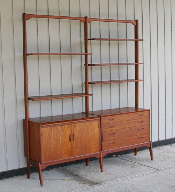 Homespun Storage Shelves