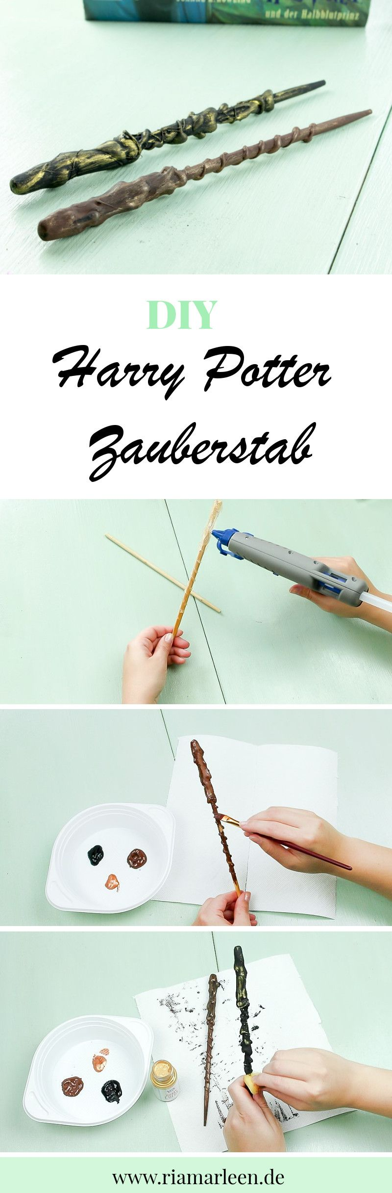 Diy Harry Potter Zauberstab Selber Machen Diy Harry Potter