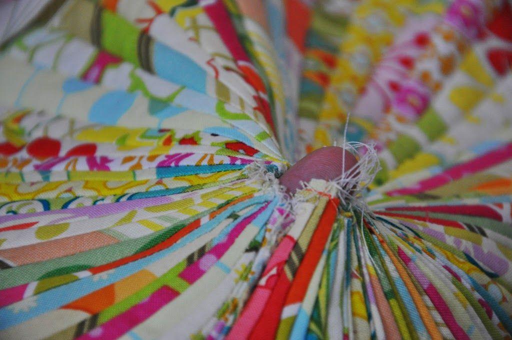 Made: Jelly Roll Floor Pillow   pillow talk   Pinterest   Floor ...