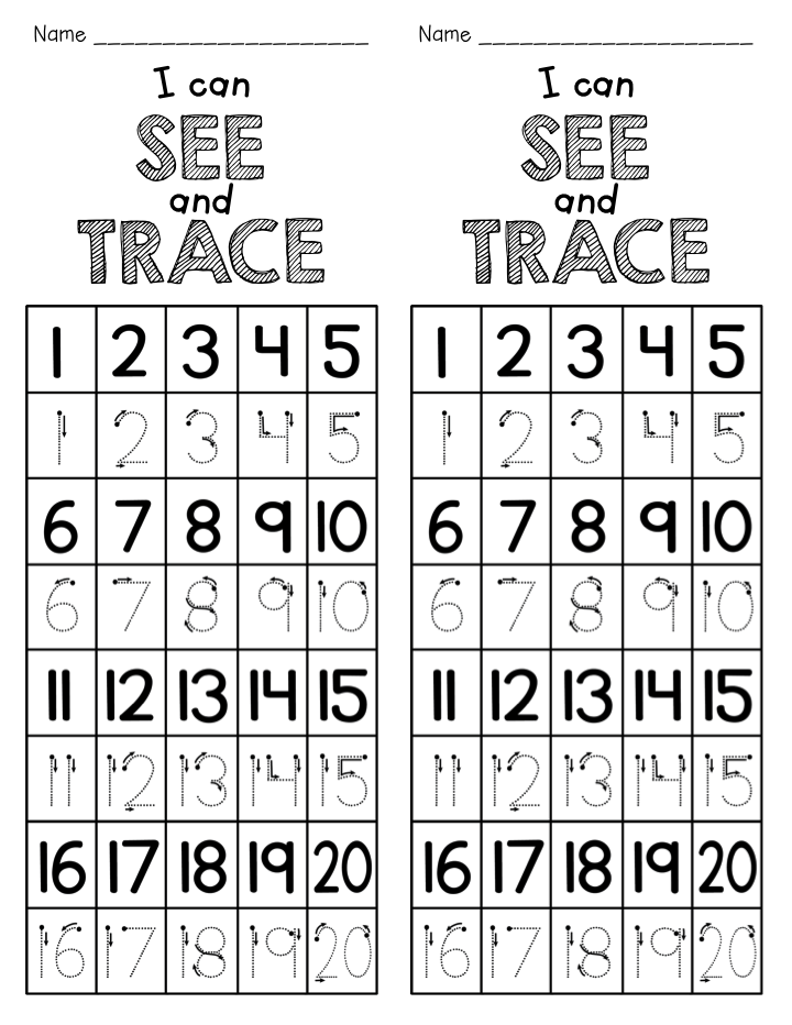 Number Writing Freebie (Teacher Laura) | Number, Teacher and ...